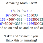 Amazing Math Fact image for Facebook