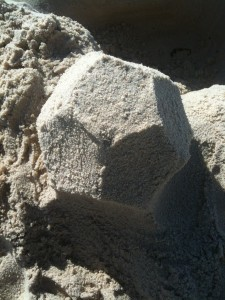 Dodecahedron Sand Sculpture