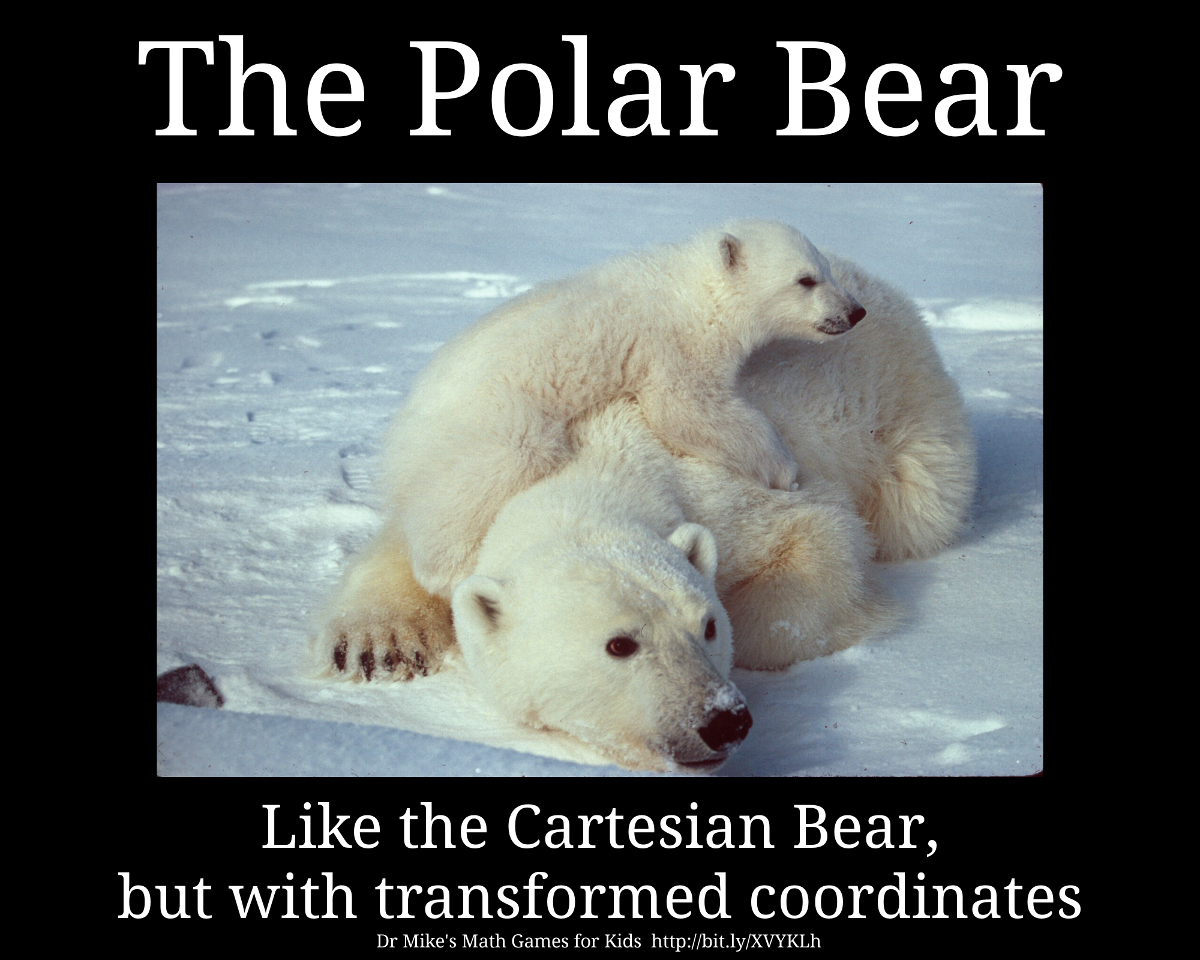 Uncategorized Bear Jokes the polar bear math games for kids blog like cartesian but with transformed coordinates