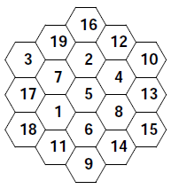 Printables Hexagon Worksheet magic hexagon worksheets dr mikes math games for kids worksheets