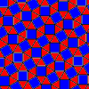 the archimedean tiling 3.3.4.3.4 - the snub square tiling