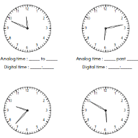tell-time-worksheets
