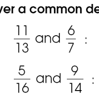 common-denominator-worksheets