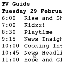 timetable-worksheets